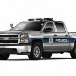 Chevrolet presenta su Silverado 1500 SSV Policía