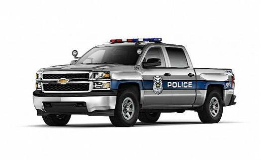Chevrolet Silverado 1500 SSV policia
