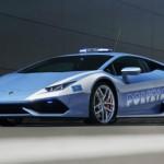 Lamborghini Huracán LP 610-4 Polizia para la policía italiana es presentado