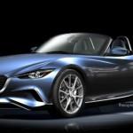 El nuevo Mazda MX-5 2015 en primer render luce espectacular