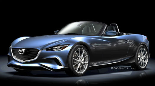 Mazda MX-5 2015 render
