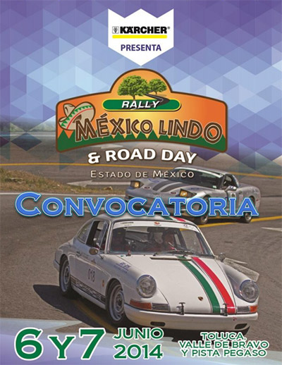 Rally México lindo Road Day