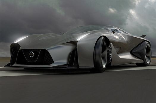 Nissan Vision Gran Turismo cocept