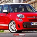 El Fiat Abarth 500L en nuevo render de cómo podría ser