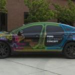 Ford presenta su Fusion concept de peso ligero