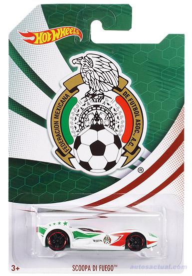 Hot Wheels Selección Mexicana Scoopa Di Fuego