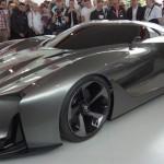 Nissan presenta en vivo su Vision Gran Turismo concept (Video)
