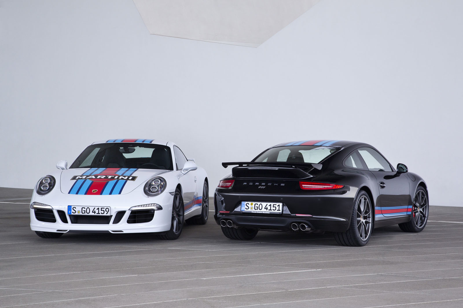 Porsche Carrera S Martini Racing Edition