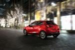 Mazda 2 2016 parte posterior en calle