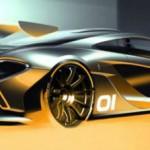 Primer teaser del nuevo McLaren P1 GTR