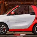 Nuevo Smart ForTwo Cabrio en primer render