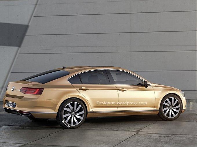 Volkswagen CC 2016 Render
