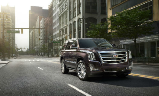 Cadillac Escalade Platinum Collection 2015
