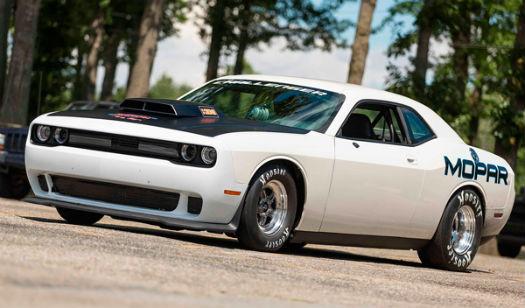 Dodge Challenger Mopar Drag Pak