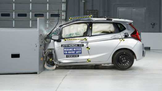 Honda Fit 2015 IIHS
