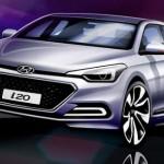 Nuevo Hyundai i20 en primeros bocetos