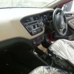 Interior del nuevo Hyundai i20 en foto espía