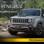 Jeep Renegade 2015 pronto en México