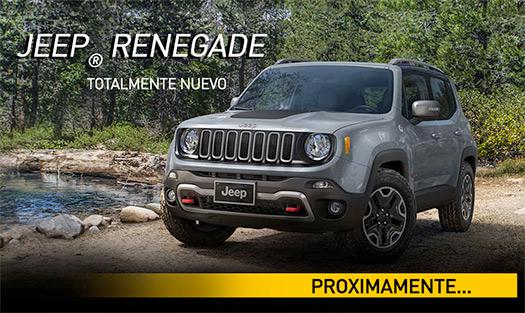 Jeep Renegade 2015 en México