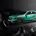 Mercedes A 45 AMG de GAD Motors es presentado