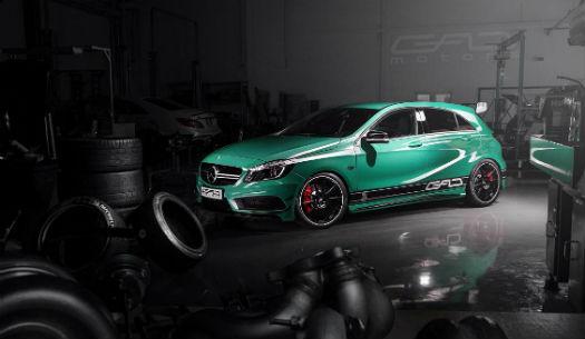Mercedes A 45 AMG by GAD Motors