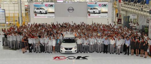 Nissan 100 mil unidades