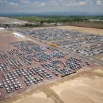 Nissan inaugura centro de distribución vehicular en su planta A2