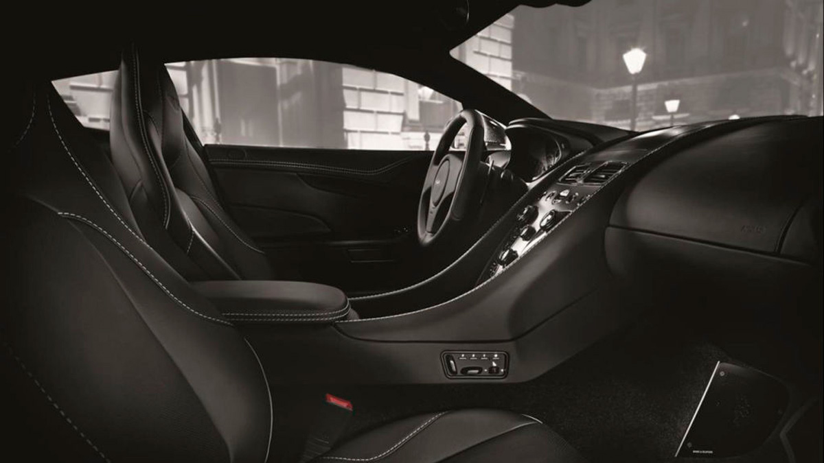 Aston Martin Vanquish Cabrio Edition