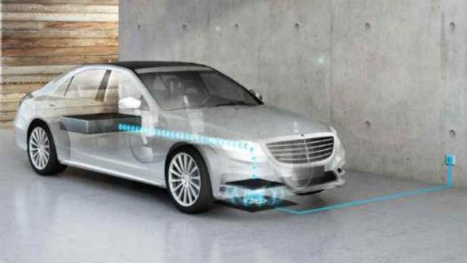 Mercedes y BMW carga sin cables
