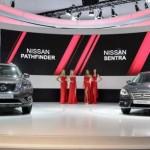 Nissan presenta el Pathfinder y Sentra para Rusia en el Auto Show de Moscú