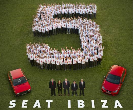 Seat Ibiza 5 millones