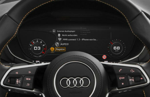 Audi Online Media Streaming