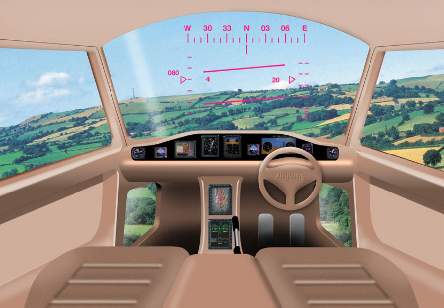 Auto Volador Personal