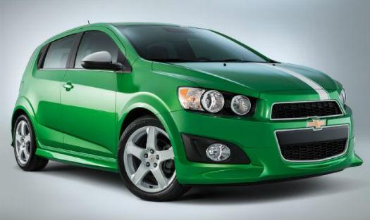 Chevrolet Sonic SEMA 2014