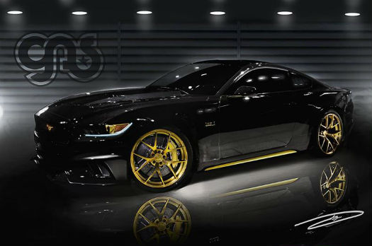Ford Mustang 2015 GAS