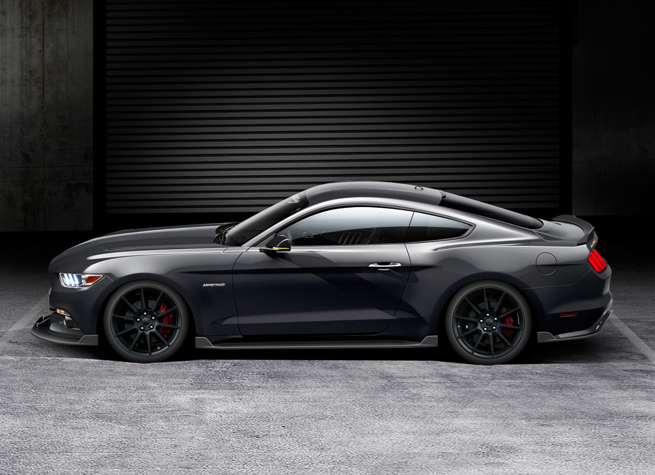 Hennessey HPE700 Mustang