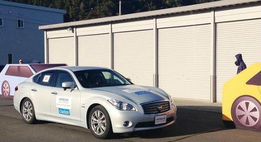 Hitachi conducción autónoma