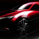 Nuevo Mazda CX-3 Concept llegará al Salón de Los Ángeles
