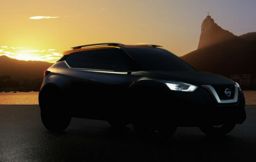 Teaser auto Nissan Concept