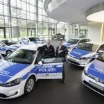 Nuevo Volkswagen e-Golf se presenta como auto de policia
