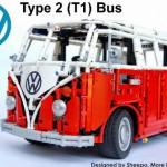 LEGO presenta el Volkswagen T1 desarrollado por Sheepo