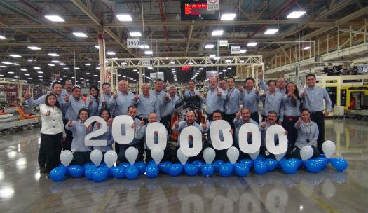 Chrysler motor 2 millones