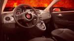 Fiat 500 Diavolo en México interiores Cluster