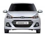 Hyundai Grand i10 Sedán 2015 para México color plata frente