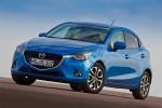Nuevo Mazda2 2016 versión para Europa diseño Kodo color azul