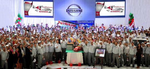 Planta Nissan Aguascalientes A2 cumple 1 año