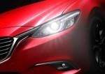 Nuevo Mazda6 actualización color rojo faros LED