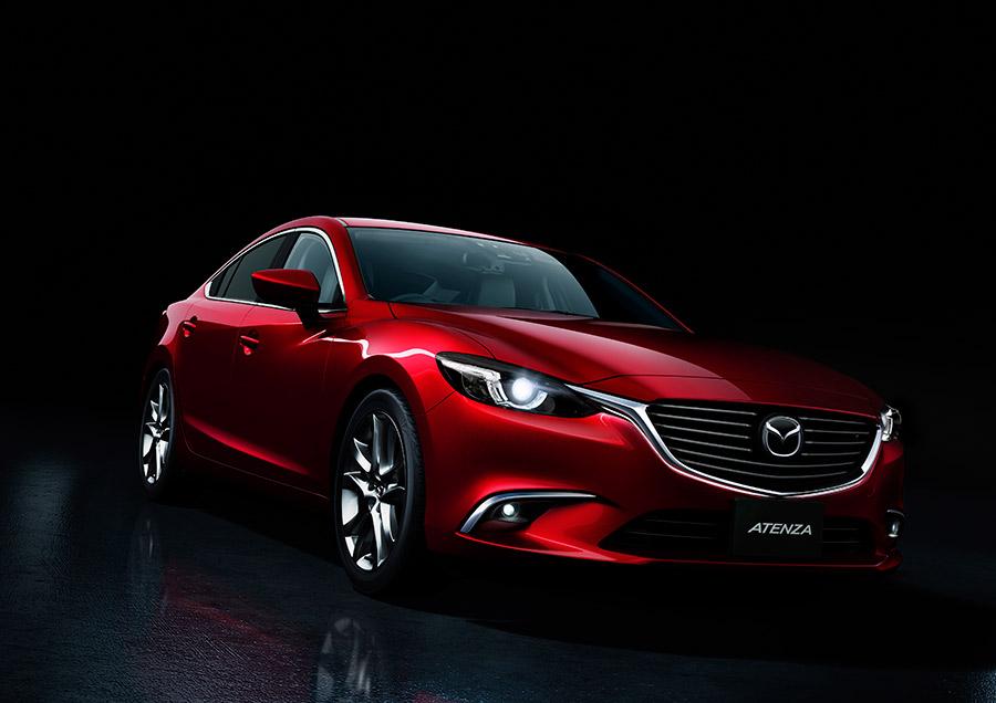 Nuevo Mazda6 actualización color rojo grande