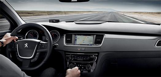 Peugeot 508 2016 tablero