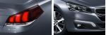 Peugeot 508 2015 en México exterior faros y frente